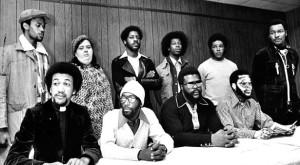 The Wilmington Ten, pardoned for innocence in 2012 by NC Governor Bev Perdue; photo by Raleigh News & Observer
